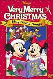 Disney Sing Along Songs Very Merry Christmas Songs 1988 Vhs.Disney Sing Along Songs Very Merry Christmas Songs Video