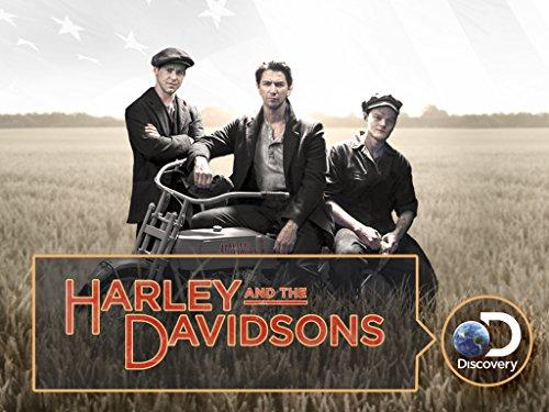 Bug Hall, Michiel Huisman, and Robert Aramayo in Harley and the Davidsons (2016)