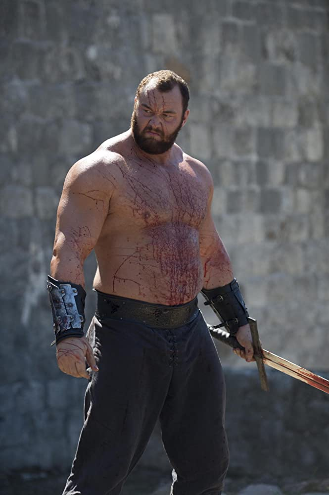 Gregor The Mountain Clegane