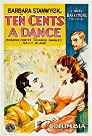 Ten Cents a Dance (1931) Poster - Movie Forum, Cast, Reviews