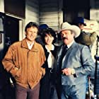 Kris Kristofferson, Joan Severance and I between takes.