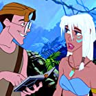 Michael J. Fox and Cree Summer in Atlantis: The Lost Empire (2001)