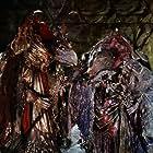 Jim Henson, Dave Goelz, Michael Kilgarriff, and Jerry Nelson in The Dark Crystal (1982)