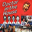 Dirk Bogarde, Donald Houston, James Robertson Justice, Kay Kendall, Kenneth More, and Muriel Pavlow in Doctor in the House (1954)