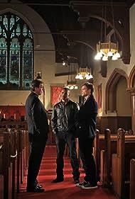 Shemar Moore, Ivar Brogger, and Matthew Gray Gubler in Criminal Minds (2005)