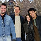 Bruno Campos, Sabrina Lloyd, John Livingston, and Mark Decena at an event for Dopamine (2003)