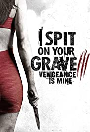 I Spit on Your Grave: Vengeance is Mine Poster
