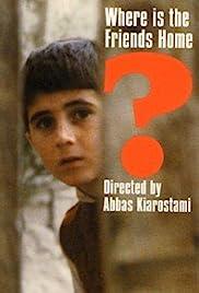 Khane-ye doust kodjast?(1987) Poster - Movie Forum, Cast, Reviews