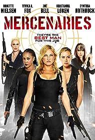 Vivica A. Fox, Brigitte Nielsen, Cynthia Rothrock, Kristanna Loken, and Zoë Bell in Mercenaries (2014)