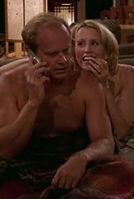 Kelsey Grammer and Felicity Huffman in Frasier (1993)