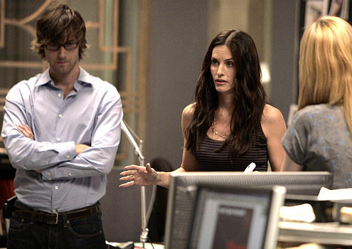 Courteney Cox and Ryan Eggold in Dirt (2007)