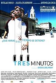 Tres minutos Poster