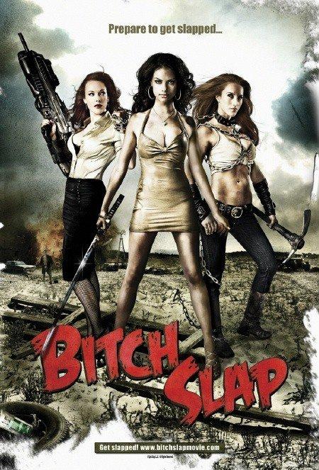 Bitch Slap 2009 UNRATED Dual Audio Hindi 350MB BluRay 480p x264