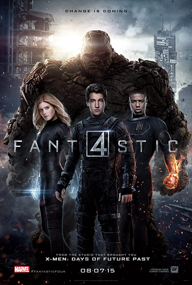 Fantastic Four (2015) Hindi Dubbed