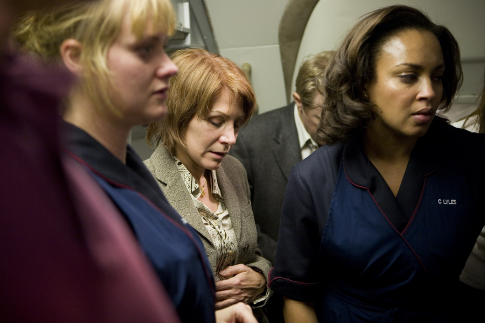 Opal Alladin, Tara Hugo, and Trish Gates in United 93 (2006)