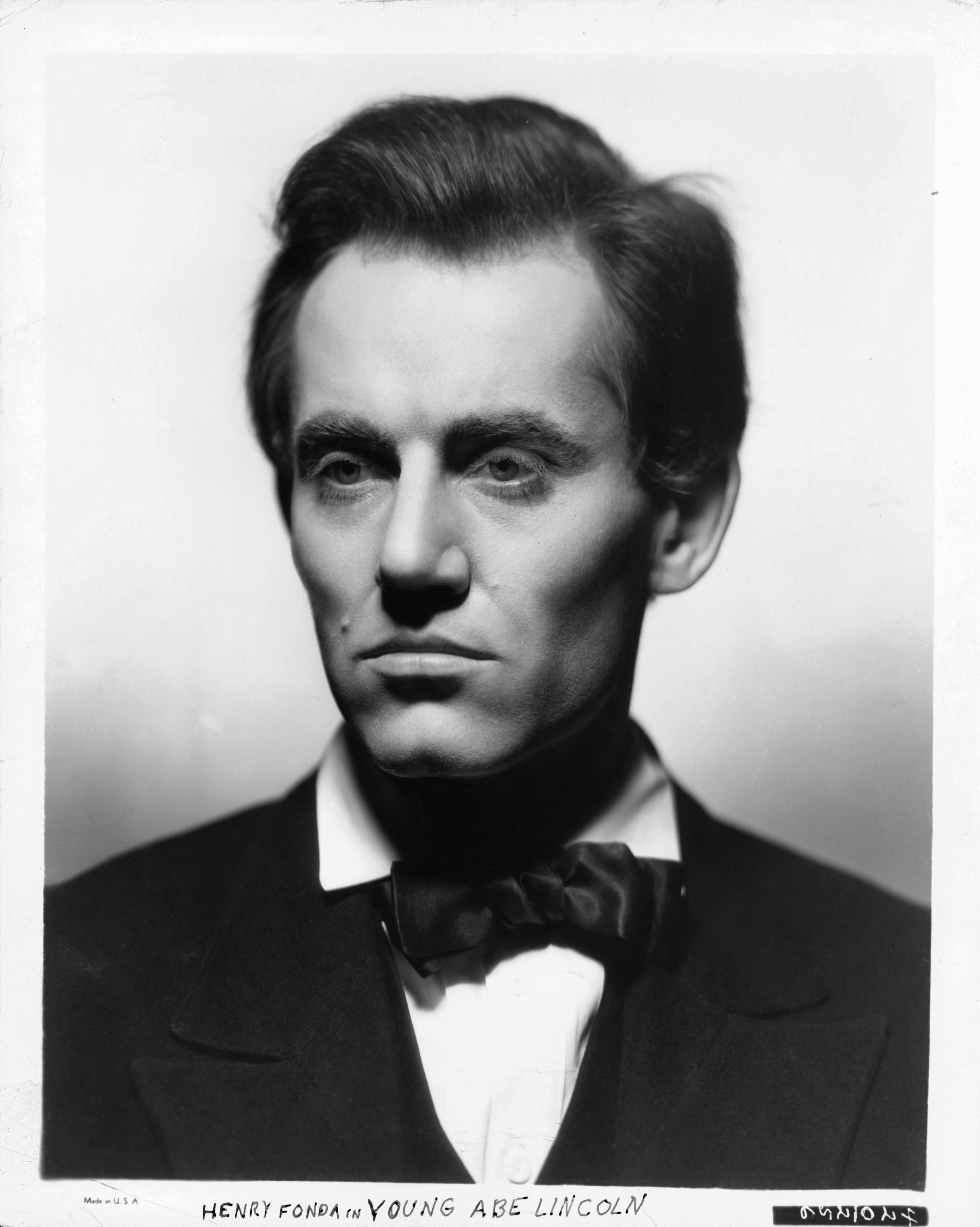 Henry Fonda in Young Mr. Lincoln (1939)