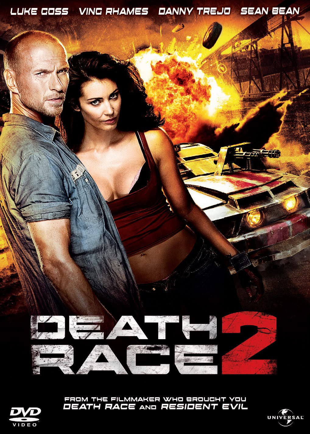 Death Race 2 (2010) Hindi Dubbed