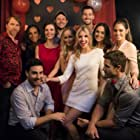 Onset It Happened One Valentine's with the cast: Courtney Gaines, Ione Butler, Haley Webb, Tommy Savas, Cathy Baron, Brittany Underwood, James Maslow, Jessica Lee Keller, Lindsay Hartley and Anderson Davis.