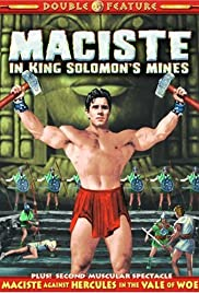 Samson in King Solomon's Mines Poster