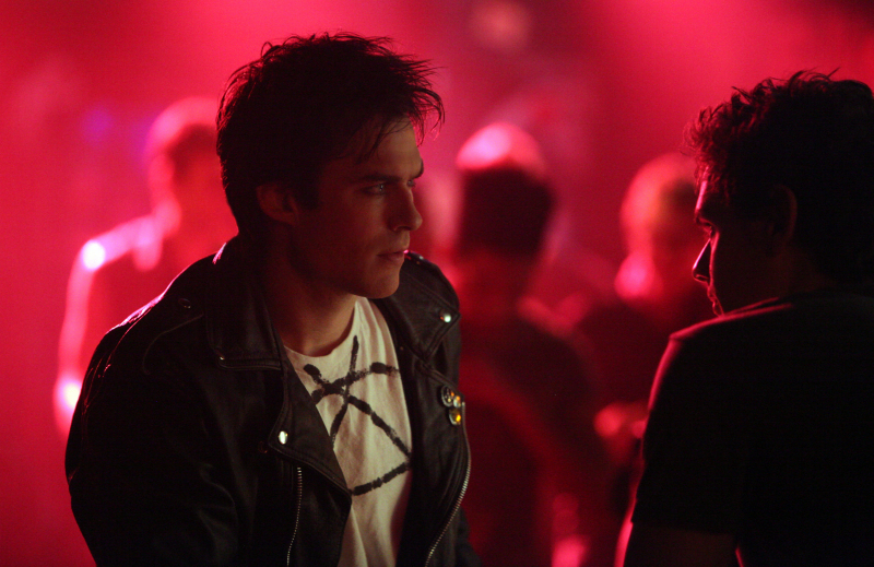 Ian Somerhalder and Aaron Jay Rome in The Vampire Diaries (2009)