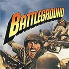 Van Johnson and John Hodiak in Battleground (1949)