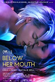 Natalie Krill and Erika Linder in Below Her Mouth (2016)