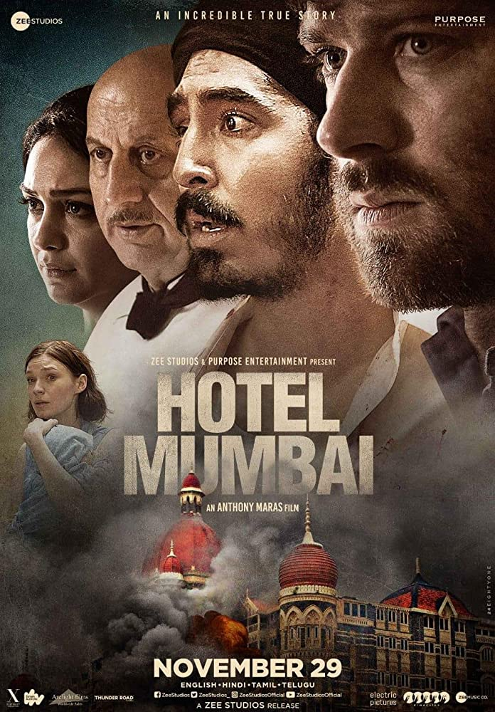 Hotel Mumbai (2018) – Tamil   Telugu – 1080p   720p   480p Zee5 WEB-DL x264 AAC