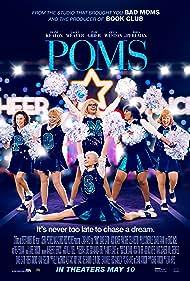 Pam Grier, Diane Keaton, Rhea Perlman, Jacki Weaver, and Celia Weston in Poms (2019)