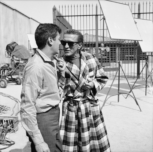 Kirk Douglas and Tony Curtis in Spartacus (1960)