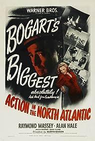 Humphrey Bogart and Julie Bishop in Action in the North Atlantic (1943)