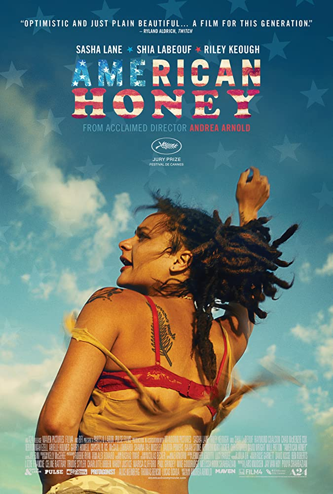 American Honey (2016) unrated Dual Audio 720p 480p BluRay  [Hindi – English]
