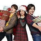 Drake Bell, Josh Peck, and Miranda Cosgrove in Merry Christmas, Drake & Josh (2008)