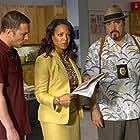 Desmond Harrington, Luna Lauren Velez, and David Zayas in Dexter (2006)
