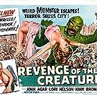 John Agar and Lori Nelson in Revenge of the Creature (1955)