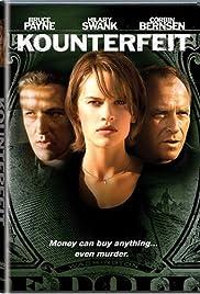 Kounterfeit(1996) Poster - Movie Forum, Cast, Reviews