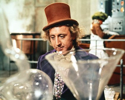 """Willy Wonka and the Chocolate Factory"" Gene Wilder 1971 Paramount"