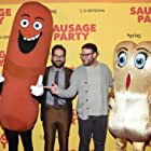 Seth Rogen and Paul Rudd at an event for Sausage Party (2016)