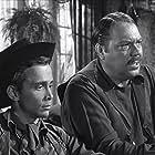 Joel Grey and Kelly Thordsen in Maverick (1957)