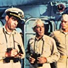 Humphrey Bogart, Robert Francis, and Fred MacMurray in The Caine Mutiny (1954)