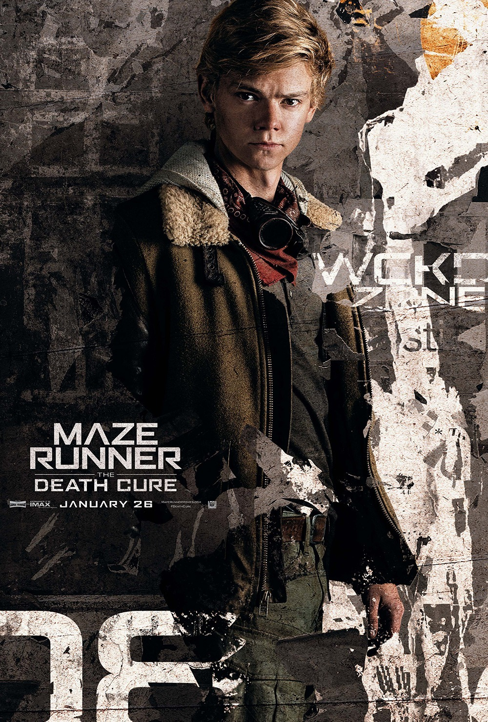 Thomas Brodie-Sangster in Maze Runner: The Death Cure (2018)
