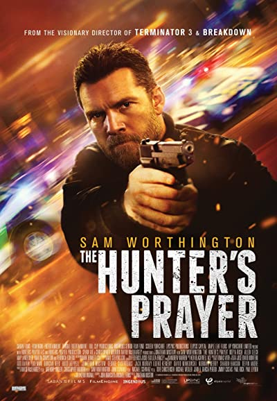 Poster of The Hunters Prayer 2017 Dual Audio 720p Download