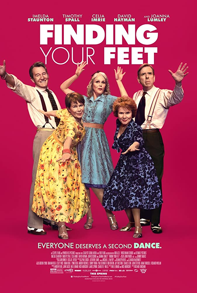 Timothy Spall, Imelda Staunton, David Hayman, Celia Imrie, and Joanna Lumley in Finding Your Feet (2017)