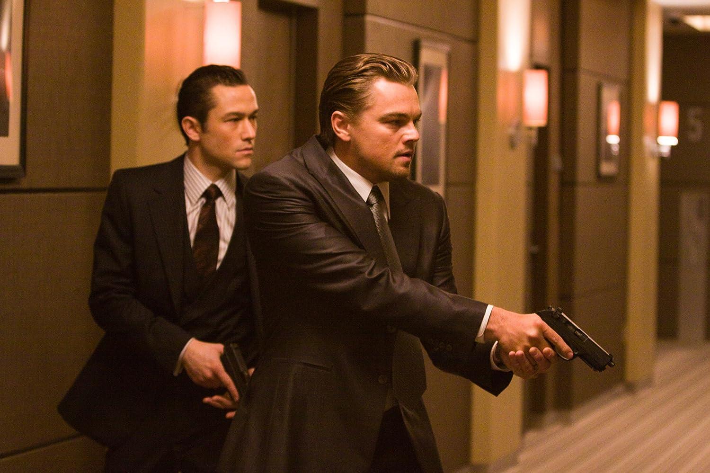 Leonardo DiCaprio and Joseph Gordon-Levitt in Inception (2010)