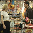Sonny in the market with Corinne