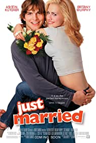 Ashton Kutcher and Brittany Murphy in Just Married (2003)