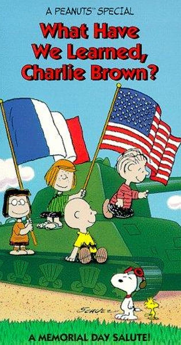What Have We Learned Charlie Brown Tv Movie 1983 Imdb