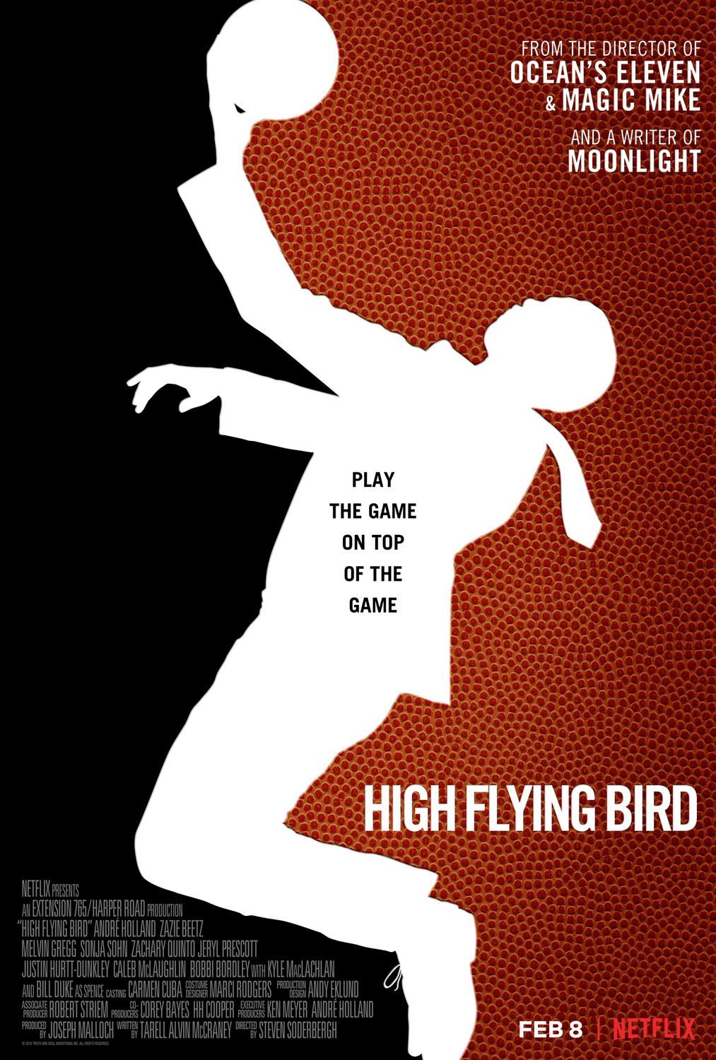 High Flying Bird (2019) WEBRip 1080p