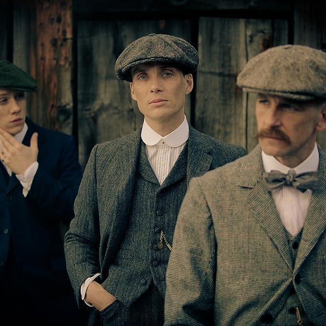 Cillian Murphy, Paul Anderson, and Joe Cole in Peaky Blinders (2013)