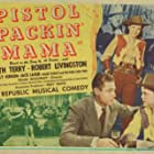 Robert Livingston and Ruth Terry in Pistol Packin' Mama (1943)