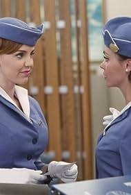 Christina Ricci and Kelli Garner in Pan Am (2011)